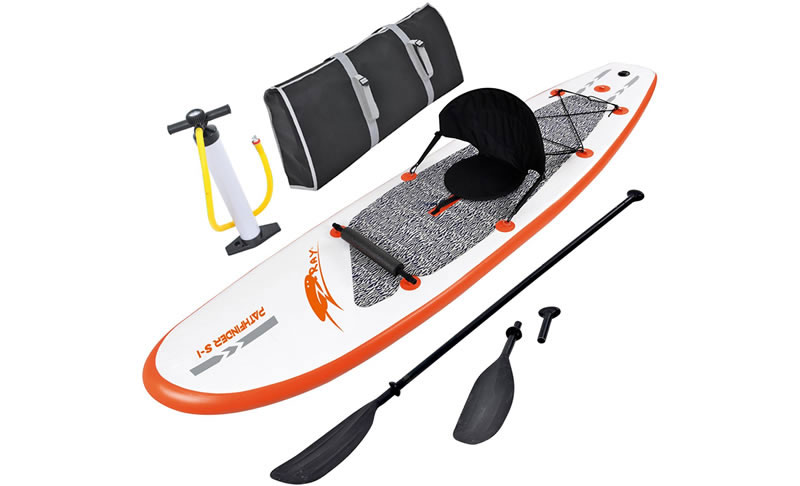 Blue Wave Sports Stingray Inflatable SUP Review