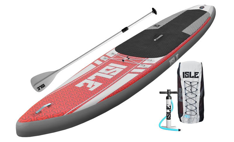 ISLE Airtech 12'6 Touring Inflatable SUP Review